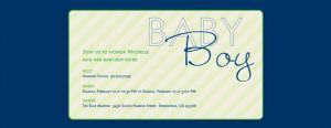 Ping Baby Shower Evites