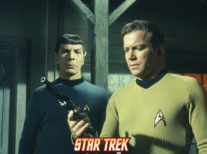 Mr Spock And Captain Kirk
