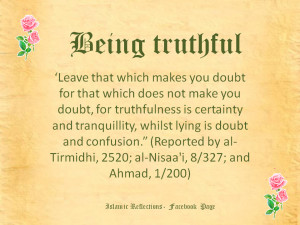 The Importance of Being Truthful