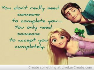 Tangled Love Quote