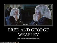 fred and george weasley funny quotes | FRED AND GEORGE WEASLEY ...