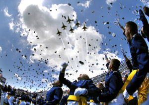 US Air Force Academy Graduation Ceremony