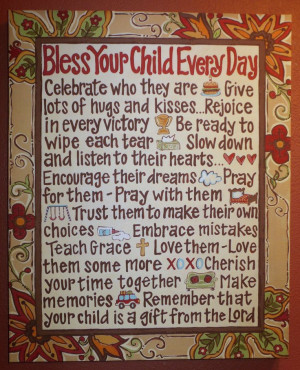 Bless Your Children Every Day