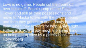 Quotes About Grizzly Bears