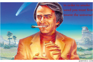 Smoke Weed Everyday Carl Sagan Pictures - carl sagan legalize