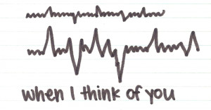 When i think of you