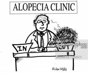 medical-alopecia_areata-hair_loss-hair_losses-balding-in_tray-akln341l ...
