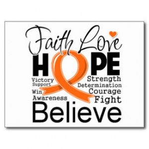 Leukemia Hope Love Gifts and Gift Ideas