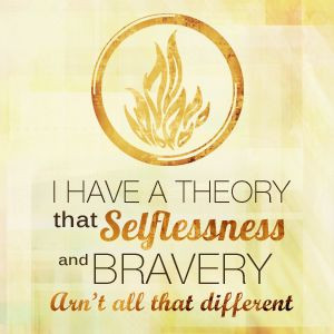One of my favorite quotes!! Almost done with Divergent! Can't wait to ...