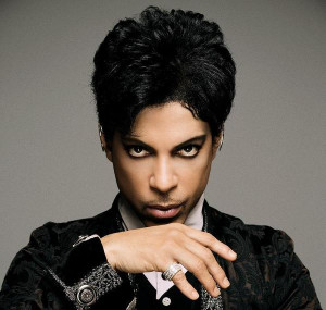 Prince performed two songs Friday on