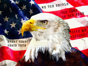 American Flag Quotes by AleidraHawk