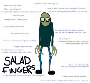 Salad Fingers by MagicalOtaku
