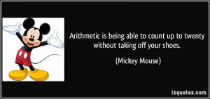 Mickey Mouse Quotes About Life