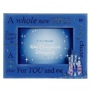 ... Photo Frames > Disney Picture Frame - Quotes - Aladdin Magic Castle