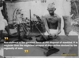 World Peace Quotes Gandhi Ghandi quote on international
