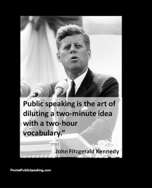 """Quotations about public speaking] """"Public Speaking is …"""""""