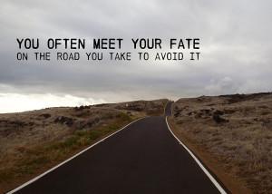 Not The Destination Quote Photograph