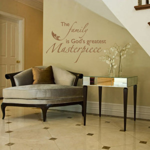 Family Wall Quote Decal Decor For Family Room Den Living Room - Family ...