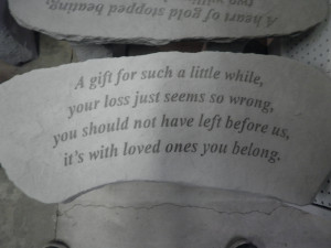 Memorial Sayings for Loved Ones