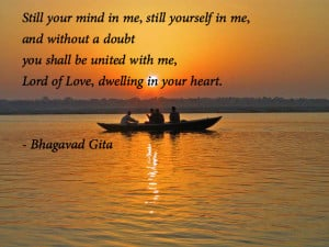 United With Me Lord Of Love Dwelling In Your Heart Bhagwad Gita