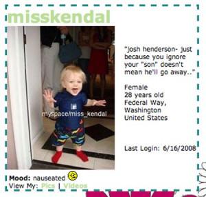 Kendal Sheppard: Josh Henderson Is Deadbeat Dad