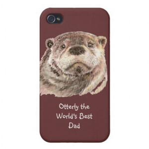Otterly World's Best Dad Humour Quote for Father