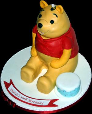 Pooh Winnie The Birthday Cake