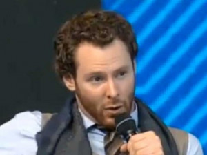 ... Sean Parker is at DLD, and had a great two-man panel with Brazilian
