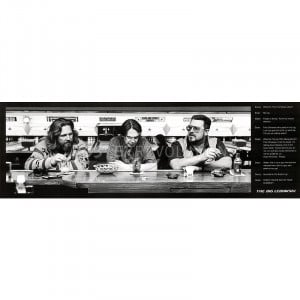 The Big Lebowski Movie (You're Out of Your Element, Quotes) Poster