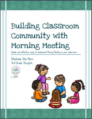 Morning Meeting: Updated Packet previewed on Third Grade Thoughts ...
