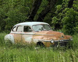 Abandoned Rusty Old Cars
