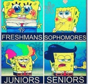 Spongebob Through The Years