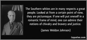 The Southern whites are in many respects a great people. Looked at ...