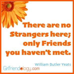 Girlfriendology friends you haven't met, friendship quote