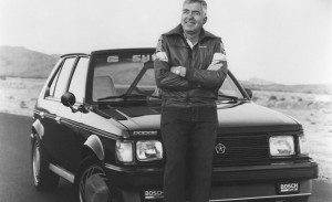 1986 Dodge Omni Shelby GLHS and Carroll Shelby