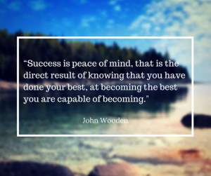 John Wooden Quotes On Success