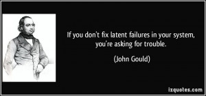 More John Gould Quotes
