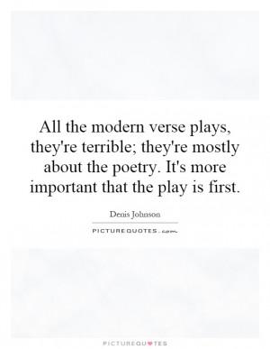 Denis Johnson Quotes | Denis Johnson Sayings | Denis Johnson Picture ...