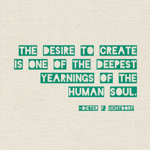 creativity picture quote