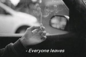 cigarette, sad, smoke, smoking