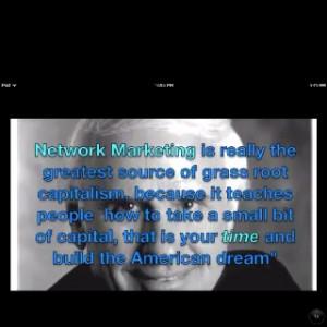 Jim Rohn on network marketing!