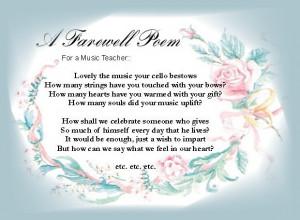 colleague prosperos farewell farewell poems to a colleague farewell ...
