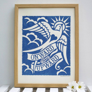 Onward And Upward' Print