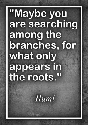 ... in the roots are Trust, Prayer, and Doing Our Best then Letting Go