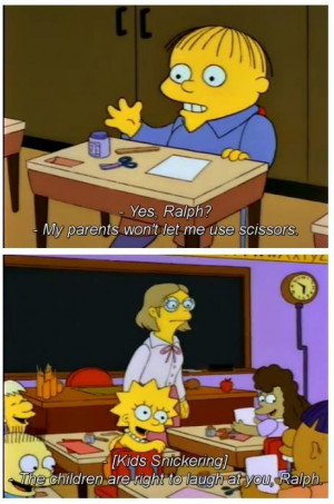 Ralph - The Simpsons