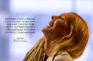 Happiness - Joyce Meyer quote