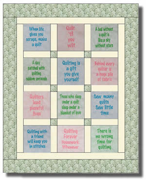 Cat Quotes Quilt Block Set These Adorable Will Have You