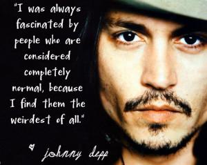Johnny Depp Normal People