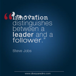 and a follower steve jobs us businessman and innovation icon