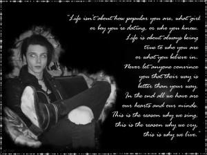 Andy Biersack quote by GD0578 on DeviantArt